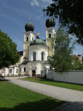 Kloster Metten nahe Deggendorf