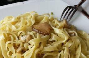 pasta mit trüffel