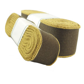 decorative ribbon no. 26, cotton, yellow-brown, width 9. (while stocks last)