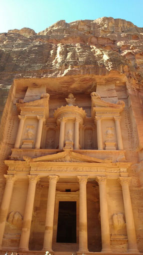 The Royal Treasury at Petra, Jordan. Dante Harker