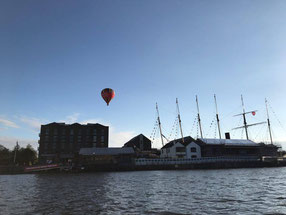Imagen del Puerto de Bristol desde 'Harbour Side' Por Fátima Blanco Macías