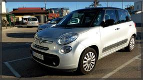 Übernahme des Fiat 500L- gefällt uns wieder!