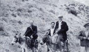 Werner Heinz Muche (links) auf Forschungsreise in Anatolien 1961