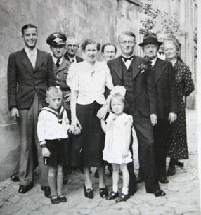 W. Heinz Muche, Hochzeit mit Elisabeth geb. Förster 1939