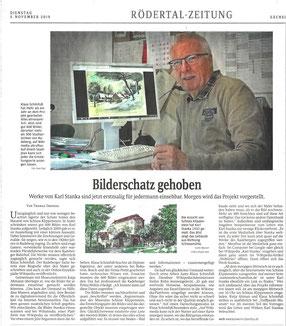 Karl Stanka-Mediathek Schloss Klippenstein in der Sächsischen Zeitung