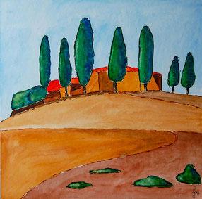 """© G. Giebel """"Toscana - Rausch des Südens"""""""