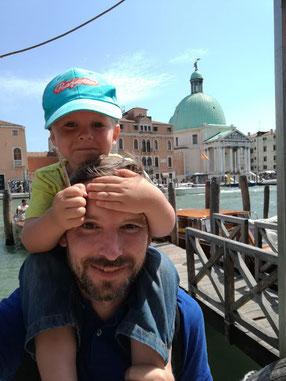 Ich, Loni und der Stecken von Venedig.
