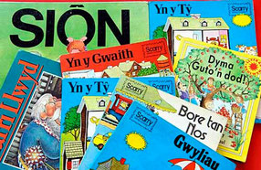 Welsh Children Books / courtesy of Photolibrary Wales