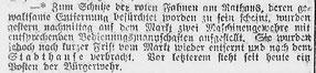 Göttinger Zeitung, 29.11.1918. StA Göttingen