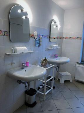 Badezimmer- Taubenschlag