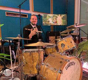 David Drechsel, Schlagzeuger bei Coming Home TV