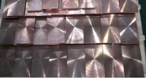 Wolfram Kupfer WCu Platten, Stangen, Stäbe