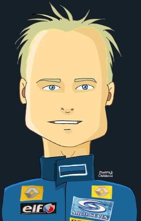 Heikki Kovalainen by Muneta & Cerracín