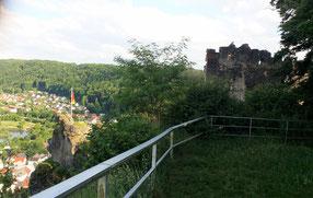 Burg Tachenstein, Wohnbau