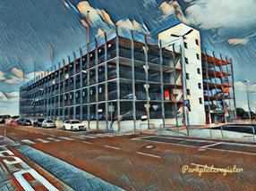 P1, P2, P3 Parkplätze am Flughafen Hahn