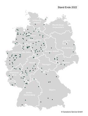 Regionen der Apartments in Pflegeimmobilien, Alternative zum Kauf von Eigentumswohnungen!