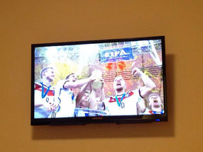 Fußball WM Endspiel 2014 Deutschland Siegesfeier