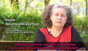 Mogelpackung Mindestsicherung  Bild: Screenshot Video UGÖD
