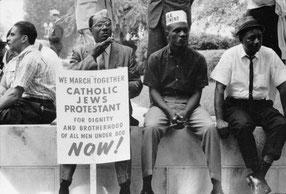 Участники марш от Сельмы до Монтгомери