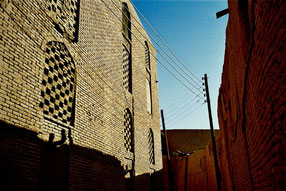 Lehmbauten in Yadz