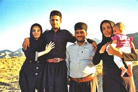 eine Zarathustra-Familie aus Abyaney