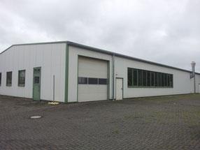 In früheren Jahres war die Halle Eigentum der Fa. Hütte