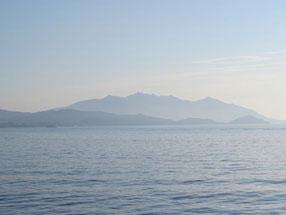 Ankunft auf der Isola d'Elba