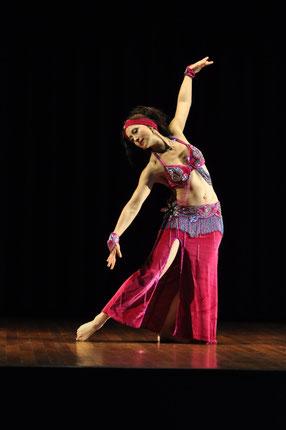 Nadja Ghazal; Bauchtanz in Bern und Thun; orientalischer Tanz in Bern und Thun; Atelier Créarte