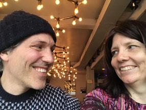 Christian Käser und Manuela Ming beim Interview