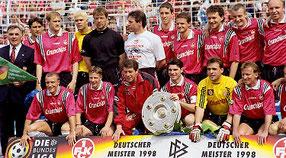 Deutscher Meister 1998 1.FCKaiserslautern