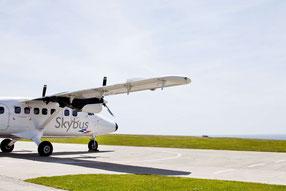 Dieser Flieger bringt Sie schnell und bequem auf die Scilly Islands