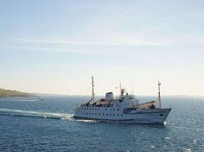 Fähre zu den Scilly Inseln