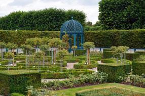 Formaler Garten in den Herrenhäuser Gärten