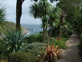 Blick von Chygurno auf die Küste