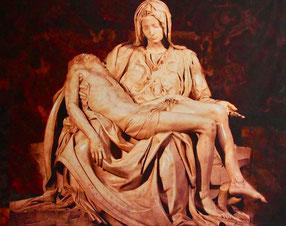 die Pieta von Michelangleo - nur ein Bild