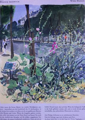 """""""Wilde Blumen"""" von Jean-Philippe Delhomme"""