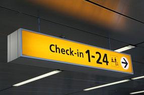 Flughafen Gate