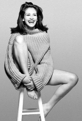 Julia Roberts, Lune Noire en Taureau en maison X.