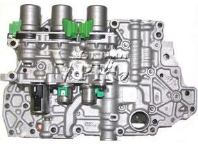 Caja de válvulas de un cambio automático.