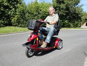 Elektromobile bis 12 und 15 km/h