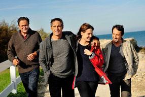 Wladimir Yordanoff, Gérard Lanvin, Ana Girardot et Jean-Hugues Anglade (©SND Films)