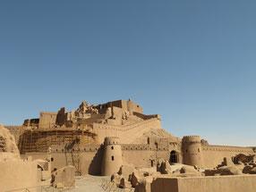 Die Zitadelle in Bam