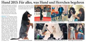 Barbet Eno in der Zeitung