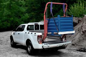 HUBiBOY MONSTER, das Verladesystem für Pickup Trucks mit Standard Pritsche
