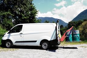 HUBiBOY NEXT, das Verladesystem für Kleintransporter-Kastenwagen und leichte Nutzfahrzeuge