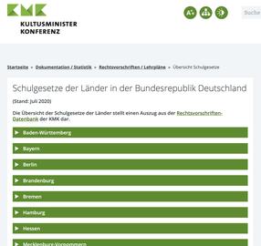 Schulgesetze Bundesländer
