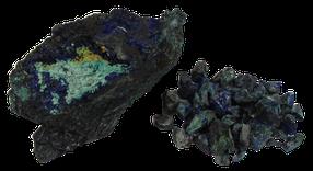 Kupfererz aus grundwassernahen Bereichen