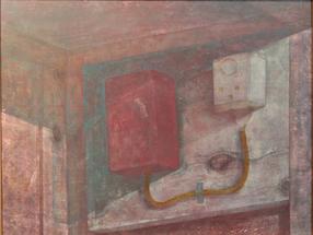 &ギャラリー展示・赤木範陸「片隅の静物1」1985