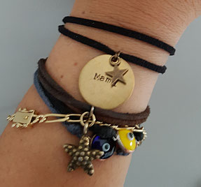 pulsera personalizada mami dia de la madre diecisietecosas