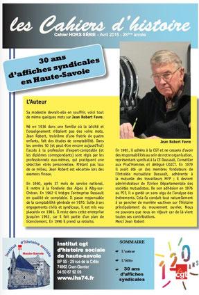 Cahier Hors-Série d'Avril 2015
